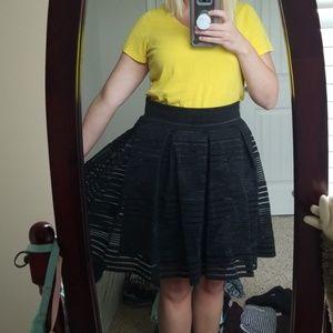 Torrid skirt with netting